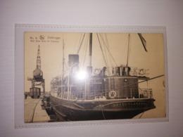 Belgium Uncirculated Postcard - Passenger Ships - Duke Of Clarence Cooe - Zeebrugge - Bateaux
