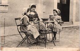 FR66 AMELIE LES BAINS - Xatard - Scène De La Vie Catalane - Le Travail - Animée - Belle - Frankreich