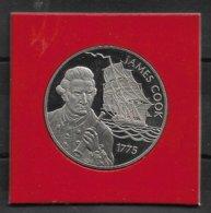 Piece 50 Pence St Helena 50 Pences - JAMES COOK Et ELIZABETH II - Timbres