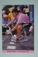 CYCLISME: CYCLISTE : STEPHEN ROCHE - Cyclisme