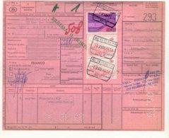 D820-België Spoorweg Chemin De Fer Stempel ESSEN Op Document - Ferrocarril