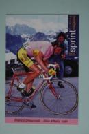 CYCLISME: CYCLISTE : FRANCO CHIOCCIOLI - Cyclisme