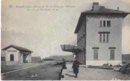 CPA De La Nouvelle Ligne De Chemin De Fer De L'ESTAQUE  à MIRANAS -Gare De MARTIGUES - France