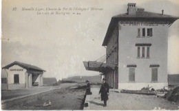 CPA De La Nouvelle Ligne De Chemin De Fer De L'ESTAQUE  à MIRANAS -Gare De MARTIGUES - Frankrijk