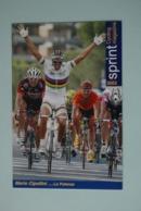 CYCLISME: CYCLISTE : MARIO CIPOLLINI - Cyclisme