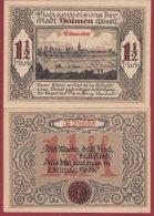 Allemagne 1 Notgeld  De 1 Mark 1/2  Stadt Dülmen  (RARE)   Dans L 'état N° 4892 - [ 3] 1918-1933 : Repubblica  Di Weimar
