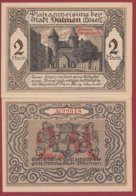Allemagne 1 Notgeld  De 2 Mark   Stadt Dülmen  (RARE)   Dans L 'état N° 4893 - [ 3] 1918-1933 : Repubblica  Di Weimar
