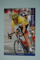 CYCLISME: CYCLISTE : LANCE ARMSTRONG - Cyclisme