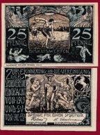 Allemagne 1 Notgeld  De 25 Pfenning  Stadt Celle  (RARE)   Dans L 'état N° 4895 - [ 3] 1918-1933 : República De Weimar