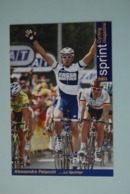 CYCLISME: CYCLISTE : ALESSANDRO PETACCHI - Cyclisme