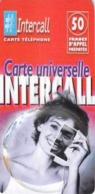 Carte Prépayée - INTERCALL -  CARTE UNIVERSELLE - 50 F - Francia