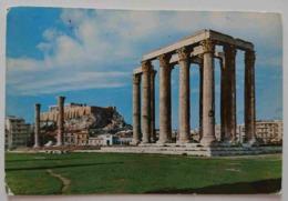 ATHENS - Temple Of Olympian Zeus -  Vg - Grecia