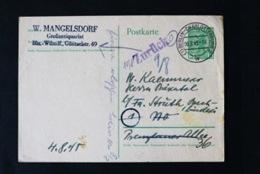 40739) SBZ Ganzsache P1 Gestempelt Aus 1945 - Zone Soviétique