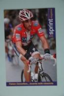 CYCLISME: CYCLISTE : FABIAN CANCELLARA - Cyclisme