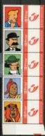 Duostamps Kuifje En Vrienden / Tintin Et Ses Amis / Tim Und Seine Freunde Duostamp Deel 1 - Bélgica