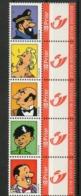 Duostamps Kuifje En Vrienden / Tintin Et Ses Amis / Tim Und Seine Freunde Duostamp Deel 2 - Bélgica