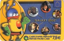 Carte Prépayée - GALAXY 2002 - 7.50 € - Frankrijk