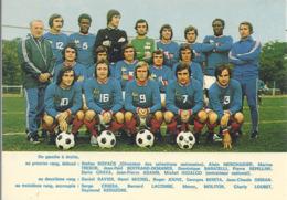 CPM Equipe De France De Football 1973-1974 - Football
