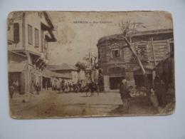 MERSINA MERSIN MERSINE Turquie Turkey Rue Centrale Commerce Attelage Cheval - Turquie