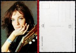 Chanteuse CP Marie LAFORET  (photo De Mervellec)  Edition Italcolor N° 931 Début Années 60 - Chanteurs & Musiciens