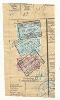 D826A-België  CHEM. DE FER  DE CHIMAY  Stempel SELOIGNES MONCEAU - Ferrocarril