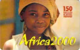 Carte Prépayée - AFRICA 2000 - 150 UNITES - Frankrijk