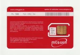 LATVIA MTS GSM SIM MINT - Lettonie