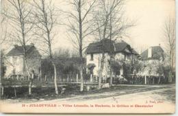 DEP 50 JULLOUVILLE VILLAS LEONETTE ,  LA HUCHETTE , LE GRILLON ET CHANTECLER - France