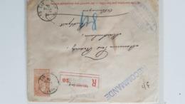 Agences. Ecarl 5+n°50(2)Ag.Bruxelles N°2.18.7.04 En Recom.v.Stuttgart.TB - Marcofilia