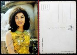 Dédicace Autographe Chanteuse CP Patricia CARLI (photo Laurent CAMIL)  Edition Publistar Marseille N° 1001 - Chanteurs & Musiciens