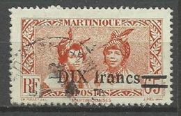 MARTINIQUE N° 224 OBL - Martinique (1886-1947)