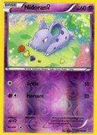 Carte Pokemon 66/160 Nidoran 60pv 2015 Reverse - Pokemon