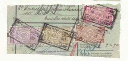 D832A-België  CHEM. DE FER  DE CHIMAY  Stempel MATAGNE LA GRANDE Op Fragment - Ferrocarril