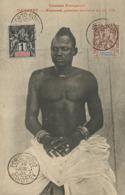 Hazoumé , Premier Ministre Du Roi Tofa . Torse Nu . Timbrée 2 T. Non Voyagé - Dahomey