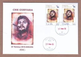 AC - TURKEY FDC - ERNESTO CHE GUEVARA ANKARA, 23 JULY2019 INDIVIDUAL FDC - Celebrità