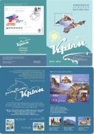 Russia. Ukraine. The Republic Of Crimea. Souvenir Booklet - 1992-.... Fédération