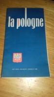 "DeplIant "" La Pologne ""1962  Pologne Polska - Tourism Brochures"
