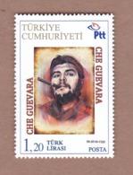 AC - TURKEY STAMP -  ERNESTO CHE GUEVARA MNH ANKARA, 23 JULY2019 INDIVIDUAL STAMP - Famous People