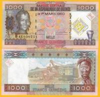 Guinea 1000 Francs P-43a 2010 Commemorative UNC Banknote - Guinee