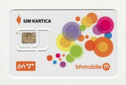 BOSNIA AND HERZEGOVINA BHmobile GSM SIM MINT - Bosnie