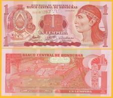 Honduras 1 Lempira P-84e 2006 UNC Banknote - Honduras