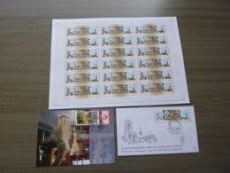 """BELG.2003 3170/3171 Lot Postage Stamps ** ,Blocs ,Maxicards Etc """"Bells Of Mechelen-St.Petersburg"""" - FDC"""