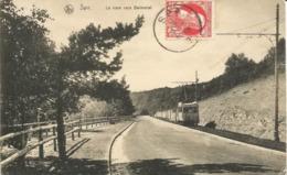 SPA - Le Tram Vers Balmoral - Oblitération De 1910 - Nels, Série 27, N° 57 - Spa