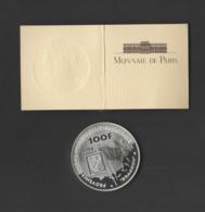 Médaille Monnaie De Paris 1994 - Pièce De 100 Francs En Argent BE. De Lattre De Tassigny - Provence - France