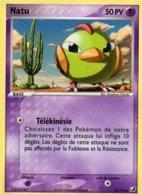 Carte Pokemon 63/115 Natu 50pv 2006 - Pokemon