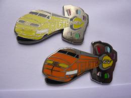 2 Big Pin S BALLARD TGV TELETHON4 X 2?5 Cm Different A Voir Tbq - TGV