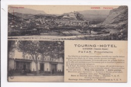 CP 04 SISTERON Panorama  Touring Hotel - Sisteron