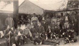 CP- Groupe De Blessés Au Pinier Neuf, à Beaupréau- - Guerra 1914-18