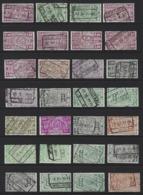 Y97 - Belgium - Railway Parcel Stamps - Used Lot - Ferrocarril