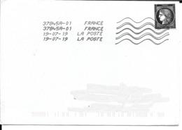 Cérès  Non Dentelé, 170 Ans Du Premier Timbre De France 1849/2019 Sur Enveloppe Entière Ayant Circulé - France